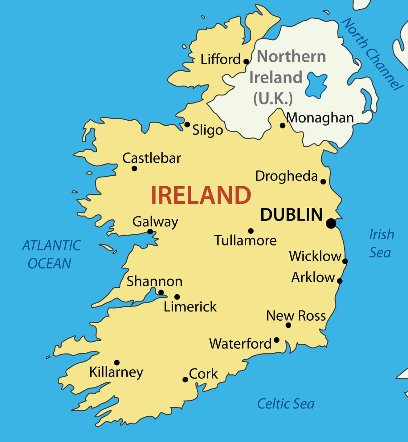 Irish Settlement in the UK